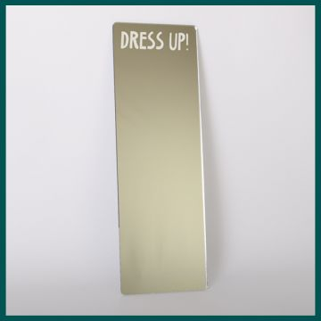 Dressing up mirrors