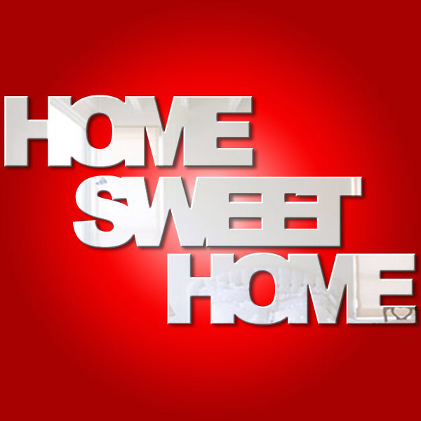 Home Sweet Home Separate Words Mirror Mungai Mirrors