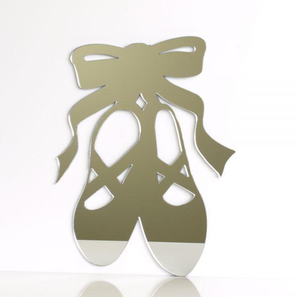 Ballet shoes mirror mungai mirrors for Dance mirrors