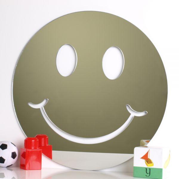 Smiley Face Mirror Mungai Mirrors
