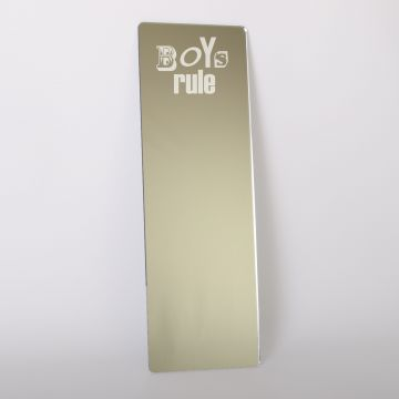 Boys Rule Dressing Up Mirror