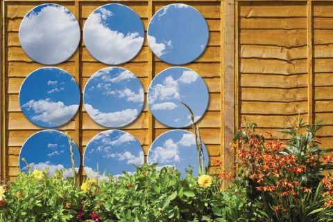 Circle Garden Mirrors