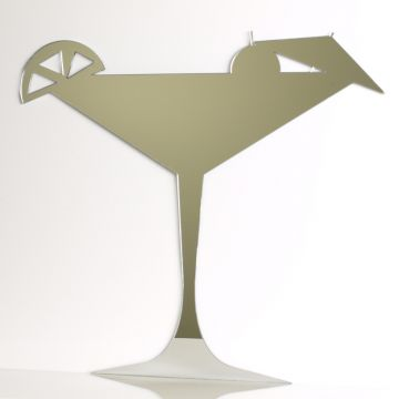 Cocktail Glass Mirror