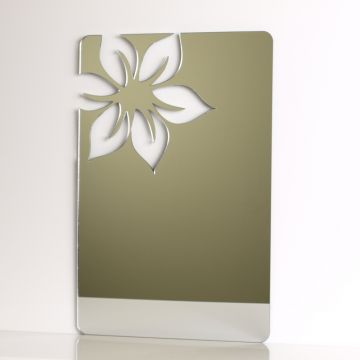 Floral Rectangle Mirror
