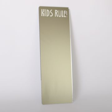 Kids Rule Dressing Up Mirror