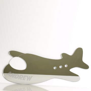 Personalised Aeroplane Mirror
