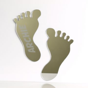 Personalised Baby Feet Mirror