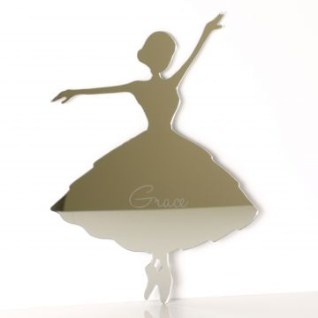 Personalised Ballerina Mirror
