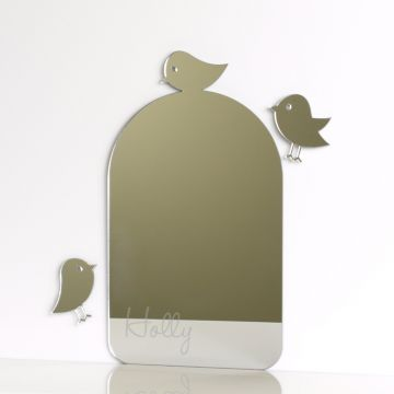 Personalised Birdcage Mirror