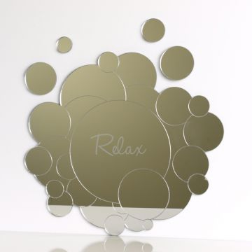 Personalised Bubbles Mirror