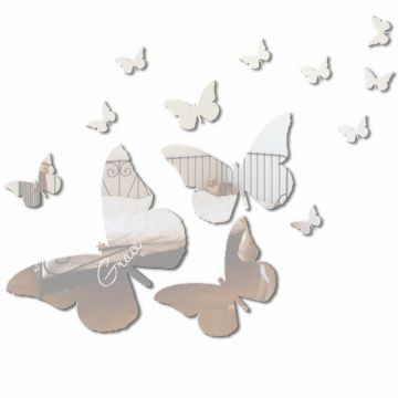 Personalised Butterfly Set - (13 mirrors)