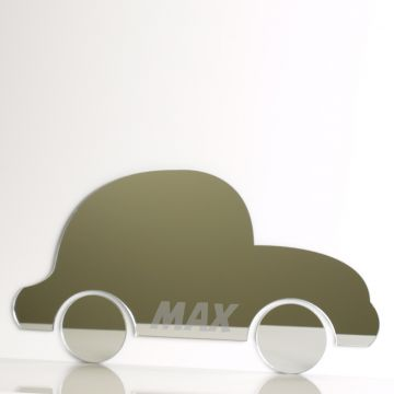 Personalised Car Mirror