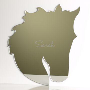 Personalised Horse Head Mirror