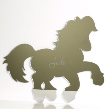 Personalised Pony Mirror