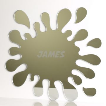 Personalised Splash Mirror