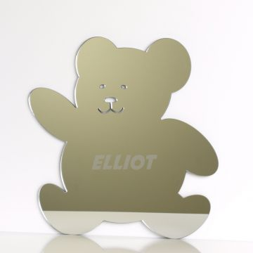 Personalised Teddy Bear Mirror