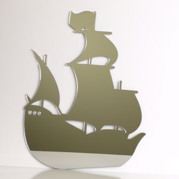 Pirate Ship Mirror
