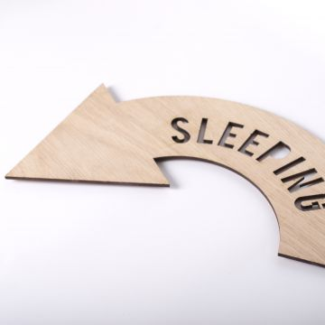 Sleeping sign