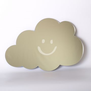 Smiley Cloud Mirror