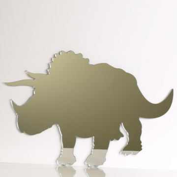 Triceratops Dinosaur Mirror