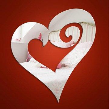 Heart Swirl Mirror