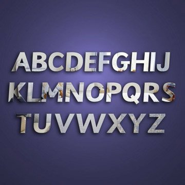 Alphabet School Pack Mirrors
