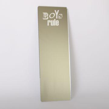 Boys Rule Dressing Up Mirror