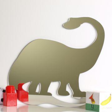 Brontosaurus Dinosaur Mirror