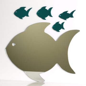 Fish Family Mirror
