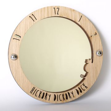 Hickory Dickory Dock Mirror