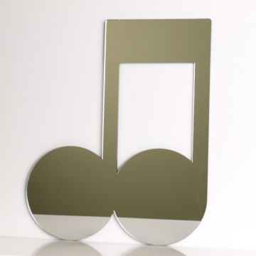 Musical Note Mirror - Quavers