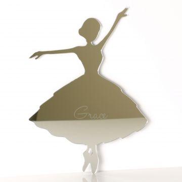 Personalised Ballerina Mirror