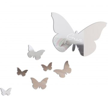 Personalised Butterfly Set - (7 mirrors)