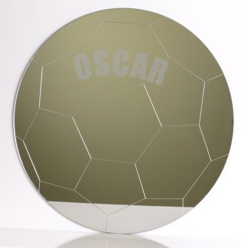 Personalised Football Mirror