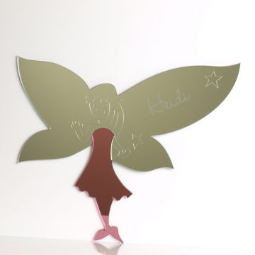 Personalised Funky Fairy Mirror