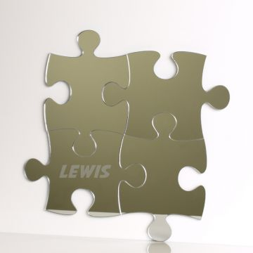 Personalised Jigsaw Puzzle Mirror