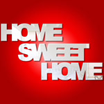 Home Sweet Home (separate words) Mirror