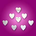 Hearts (mini) Mirrors