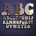 Alphabet Letter Mirrors (5cm)