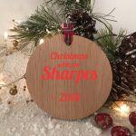 Personalised Christmas tree decoration Copy 1
