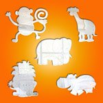 Jungle Animal Themed Mirror Pack