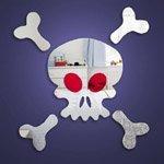 Skull & Crossbones Mirror